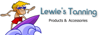 "Lewies Tanning Lotions -""Surfer Dude"""