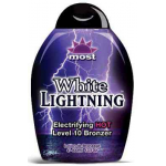 Most WHITE LIGHTENING intense tan lotion tingle bronzer -13.5 oz.