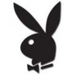 Black Authentic Playboy Bunny tanning stickers - 50 count