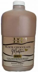 Brown Sugar Double Dark Black Chocolate Martini Black Bronzer 64 oz.