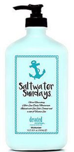 Devoted Creations SALTWATER and SUNDAYS Tan Extender -18.25 oz.
