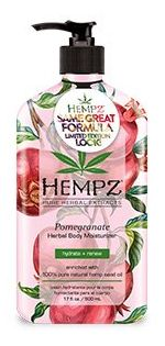 Supre Hempz POMEGRANATE HERBAL Moisturizer - 17.0 oz.