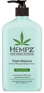 Hempz TRIPLE MOISTURE Herbal Body Creme - 17.0 oz.