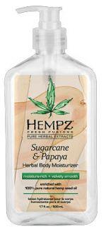 Hempz by Supre SUGAR & PAPAYA Moisturizer -17.0 oz.
