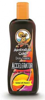 Australian Gold DARK TAN ACCELERATOR Tan Lotion - 8.5 oz.