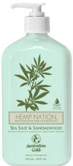 Australian Gold Hemp Nation Sea Salt & Sandalwood Moisturizer -18 oz.
