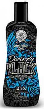 Australian Gold DARINGLY BLACK tanning cream bronzer - 8.5 oz.
