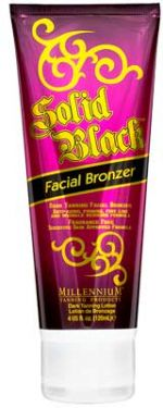 Millennium Solid Black Dark Tanning Facial Bronzer - 4 oz.