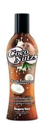 Supre COCO NUTZ Dark Tanning Bronzer Lotion - 8.0 oz.