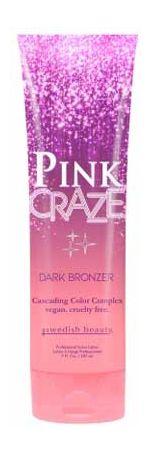 Swedish Beauty PINK CRAZE Dark Bronzer - 7.0 oz.