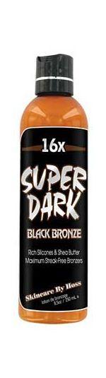 Hoss Sauce Super Dark 16x Bronzer Tanning Lotion - 8.0 oz.