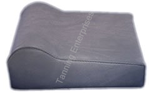 Tanning Bed Pillow Gray